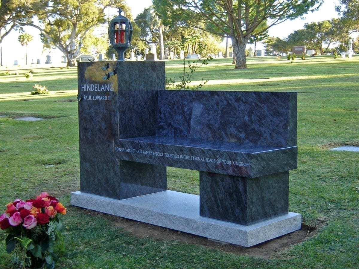 Hindelang Custom Memorial Bench
