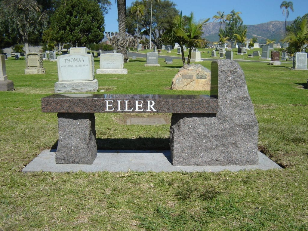 Eiler Custom Memorial Bench