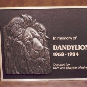 Dandylion Bronze Plaque Memorial