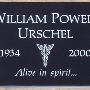Urchel Medical Flat Grave Marker