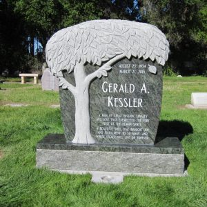 Kessler Custom Upright Monument