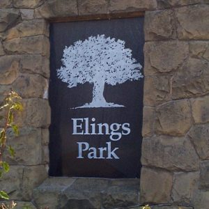 Elings Park Granite and Stone Sign