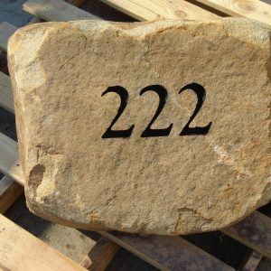 Flat Sandstone Address Rock