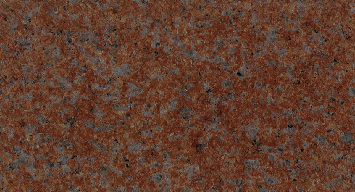 Sentinel Red Granite Color