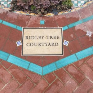 Ridley-Tree Courtyard Stone Plaque