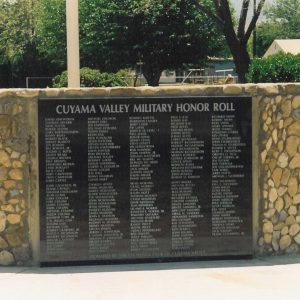 Granite Veterans Memorial